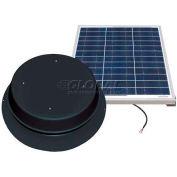 Natural Light Energy Systems SAF50B Solar Atic Fan 50 Watt Black