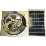 Natural Light Energy Systems SAFG20 Solar Attic Fan 20 Watt Gable Mount