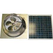 Natural Light Energy Systems SAFG30 Solar Attic Fan 30 Watt Gable Mount