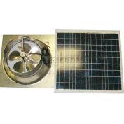 Natural Light Energy Systems SAFG50 Solar Attic Fan 50 Watt Gable Mount