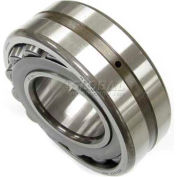 NACHI Double Row Spherical Roller Bearing 22211EXW33KC3, 55MM Bore, 100MM OD, Tapered Bore