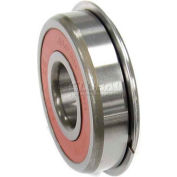 Nachi Radial Ball Bearing 6202-2rsnr, Double Sealed W/Snap Ring, 15mm Bore, 35mm Od - Min Qty 14