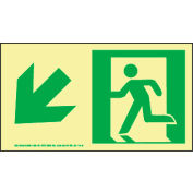 Glow NYC - Directional Sign Down Left