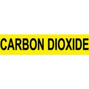 Pressure-Sensitive Pipe Marker - Carbon Dioxide, Pack Of 25