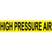 Pressure-Sensitive Pipe Marker - High Pressure Air, Pack Of 25