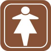 Architectural Sign - Women Symbol