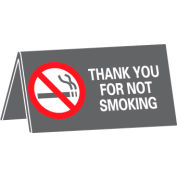 Thank You For Not Smoking Desk Sign