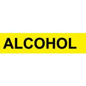Pressure-Sensitive Pipe Marker - Alcohol, Pack Of 25