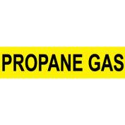 Pressure-Sensitive Pipe Marker - Propane Gas, Pack Of 25