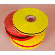 """Webbed Barrier Tape - Black/Yellow - 2""""W"""