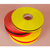 "Webbed Barrier Tape - Red/Black - 2""W"
