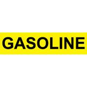 Pressure-Sensitive Pipe Marker - Gasoline, Pack Of 25