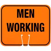Cone Sign - Men Working