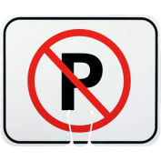 Cone Sign - No Parking