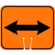 Cone Sign - Double Arrow
