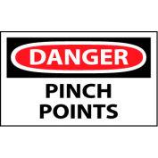 Machine Labels - Danger Pinch Points
