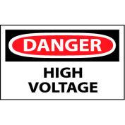 Machine Labels - Danger High Voltage