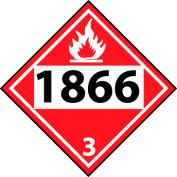 DOT Placard - 1866 3