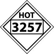 DOT Placard - Four Digit 3257