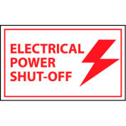 Graphic Machine Labels - Electrical Power Shut-Off
