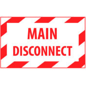 Graphic Machine Labels - Main Disconnect
