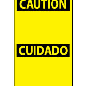Bilingual Machine Labels - Danger Peligro Blank with Header Only