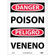 Bilingual Vinyl Sign - Danger Poison