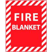 Fire Safety Sign - Fire Blanket - Vinyl