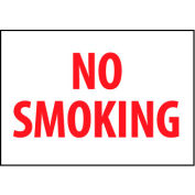 Fire Safety Sign - No Smoking - Aluminum