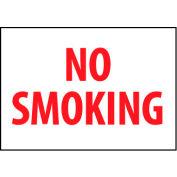 Fire Safety Sign - No Smoking - Aluminum