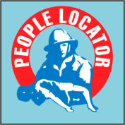 Fire Safety Sign - People Locator