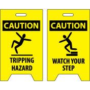 Floor Sign - Caution Tripping Hazard Watch Your Step