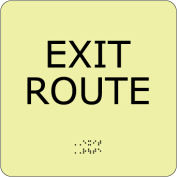 Glow Braille - Exit Route