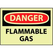 Glow Danger Rigid Plastic - Flammable Gas