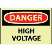 Glow Danger Rigid Plastic - High Voltage