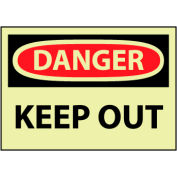 Glow Danger Vinyl - Keep Out