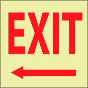 Glow Sign Vinyl - Exit