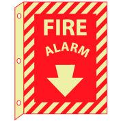 3D Glow Sign Plastic - Fire Alarm