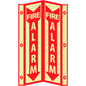 3D Glow Sign Acrylic - 3D Fire Alarm
