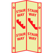 3D Glow Sign Acrylic - 3D Stairway