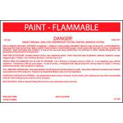 HazMat Container Label - Paint-Flammable