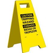 Heavy Duty Floor Stand - Caution Tripping Hazard - Bilingual