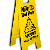 Heavy Duty Floor Stand - Caution Watch Your Step
