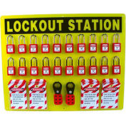 Large Lockout Station with Contents