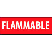 Fire Safety Sign - Flammable - Vinyl