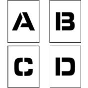 """Individual Character Stencil 12"""" - Letter Set A-Z"""