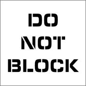 Plant Marking Stencil 20x20 - Do Not Block