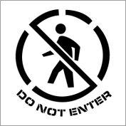 Plant Marking Stencil 20x20 - Do Not Enter