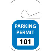 Parking Permit - Blue Rearview 101 - 200