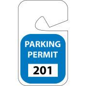 Parking Permit - Blue Rearview 201 - 300